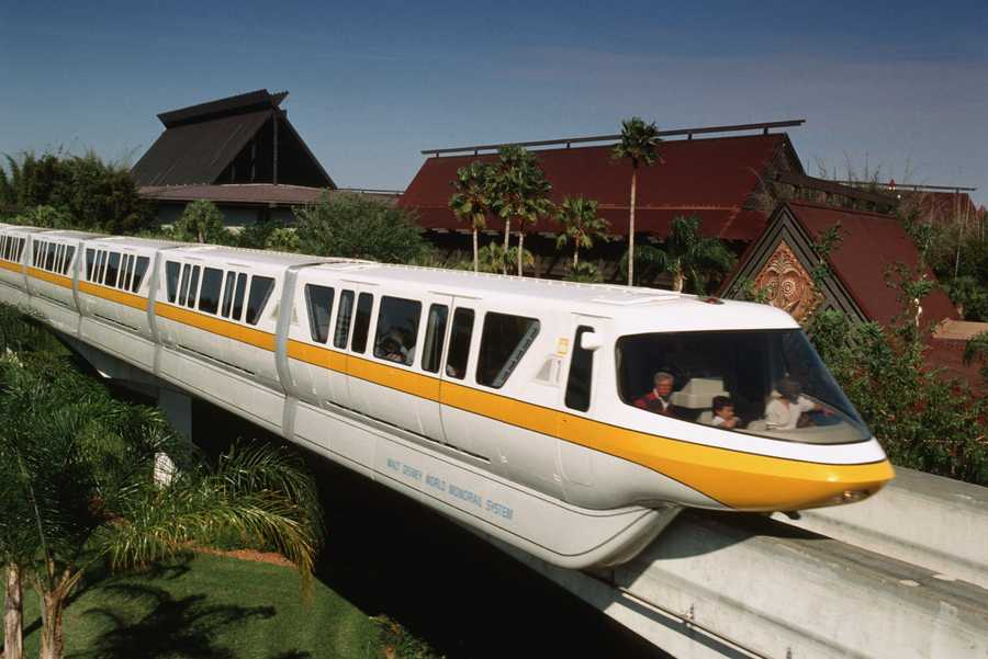 "You can hear, ""Please stand clear of the doors,"" on the Monorail at the Magic Kingdom Park or Epcot."