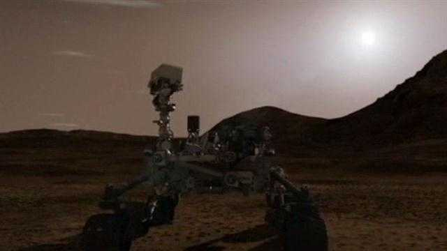NASA releases video of Mars rover's landing