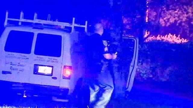 Trio in work van lead wild chase after burglaries
