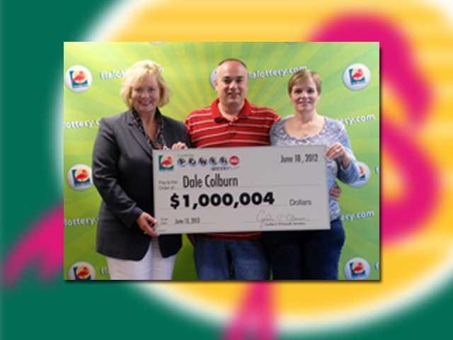 Dale Colburn of Plantaion won $1 million.