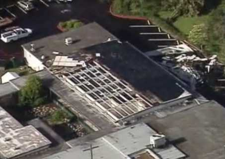 Brookshire Elementary School in Winter Park had severe damage.