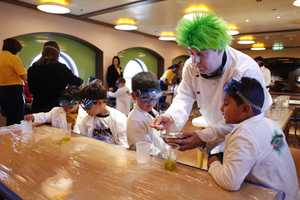 In the create and invent series, children can join Professor Goo in creating interesting concoctions.