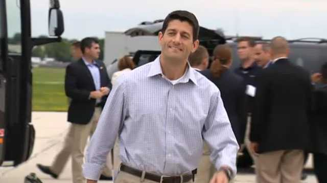 Paul Ryan walking