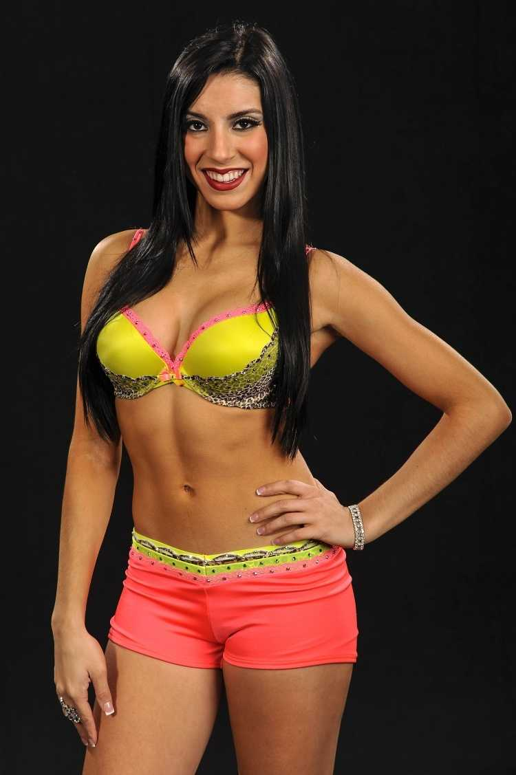 Krystle, 20, begins her second season with the team.