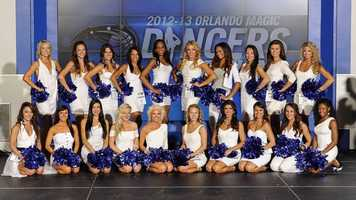 The 2012-2013 Orlando Magic Dance Team has been selected. Meet the 20 dancers you'll be seeing on the Amway Center floor.
