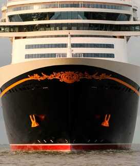 Which ship's bow do you think this is, the Dream or Fantasy?