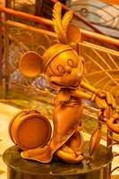 Which Disney cruise ship has this statue in its lobby? Disney Fantasy or Disney Dream?