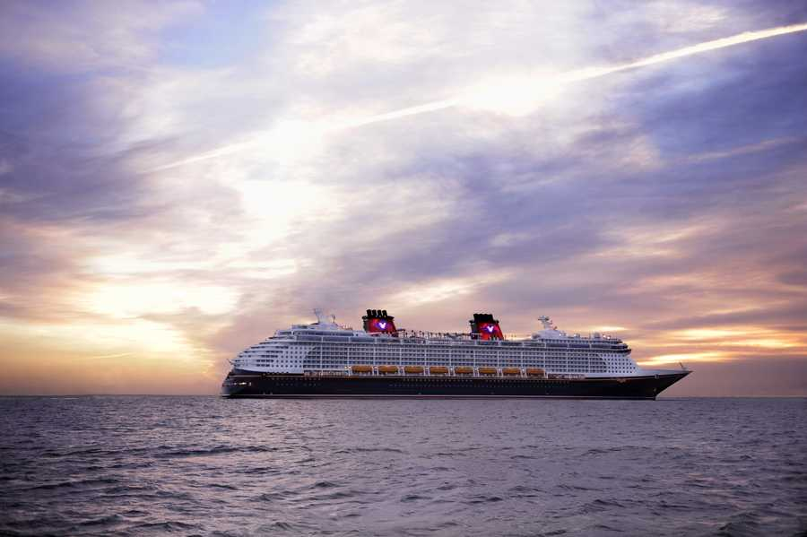 The Disney Dream claims the second mosaic.
