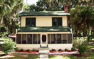 A home in Ocklawaha that was the scene of the infamous Ma Barker shootout is up for sale, complete with visible bullet holes and furniture from the day the shooting took place.