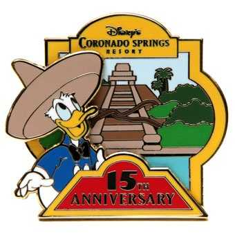 Coronado Springs Resort 15th anniversary - July 26, 2012