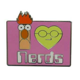 I love nerds, Muppets - Aug. 9, 2012
