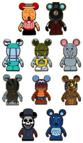 Vinylmation park mystery box set - Aug. 1, 2012