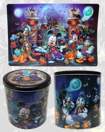 A line of Haunted Mansion-inspired items will be carried year round.