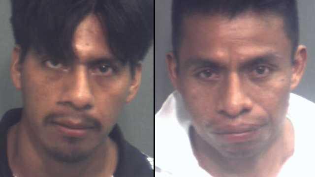 Abelino Domingo (left) and Teodoro Domingo.