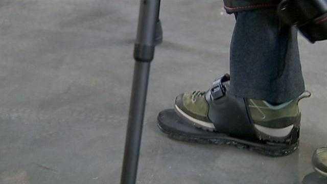 paralyzed walker