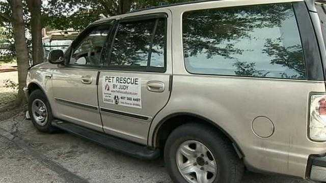 A 70-year-old man was found unconscious in the parking lot of Pet Rescue by Judy in Sanford.