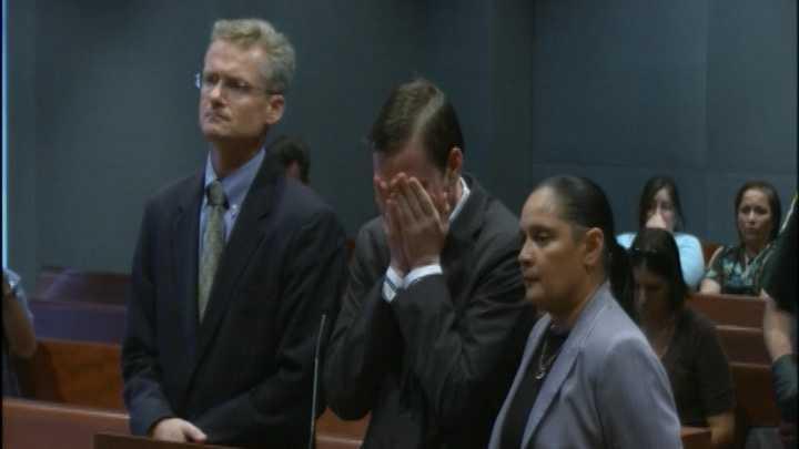 Matthew Scheidt hears verdict