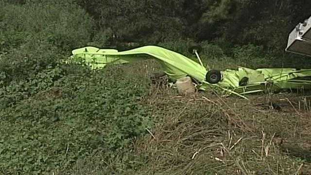 A local plane crash has taken the lives of a married couple.