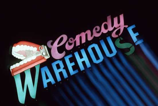 Comedy Warehouse at Pleasure Island entertained guests nightly.