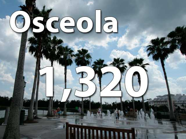 Osceola County saw 1,320 divorces and most of them occurred in May.