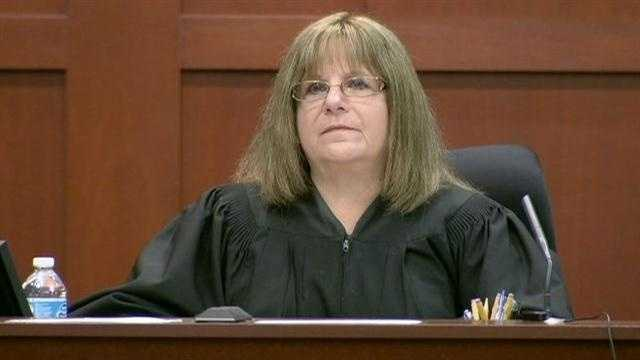 Judge Debra Nelson: The judge in the Zimmerman trial. She is the third judge to preside over the second-degree murder case.