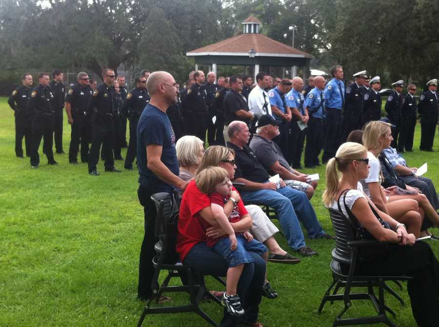 Apopka Police Chief Robert Manley said Sept. 11 will always be marked in the city with some type of ceremony to make sure no one forgets.