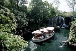 The Jungle Cruise in the 1970.
