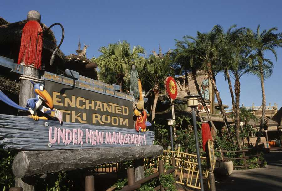 """The Enchanted Tiki Room is now """"under new management."""""""
