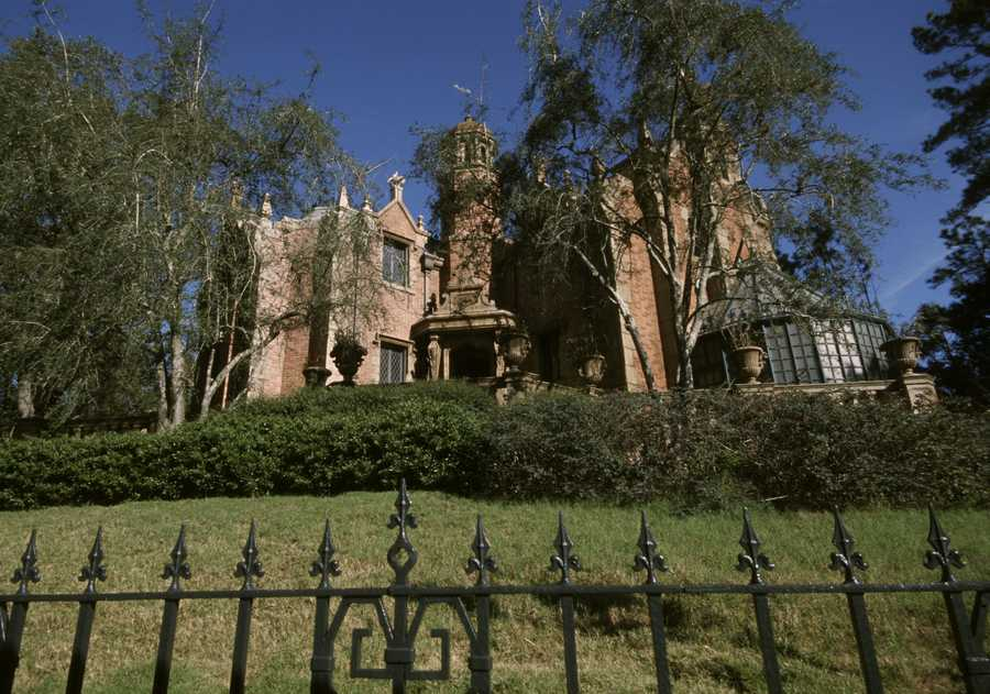 The Haunted Mansion, as seen today.
