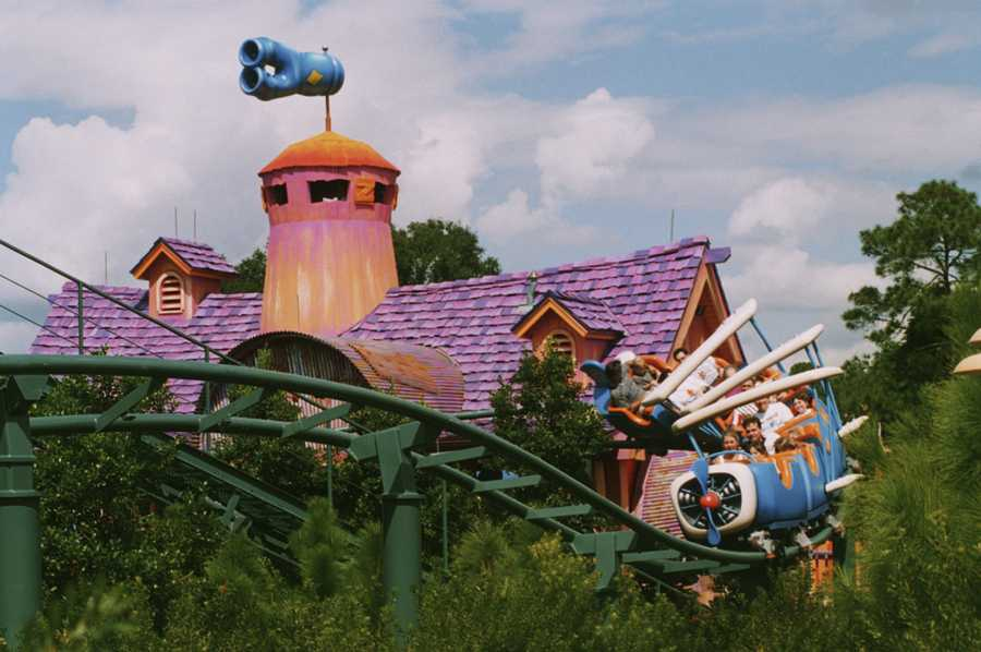 Barnstormer in Toon Town in the 1990s.