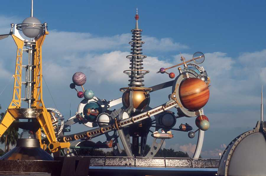 Tomorrowland's Astro Orbiter, which opened in April 1994.