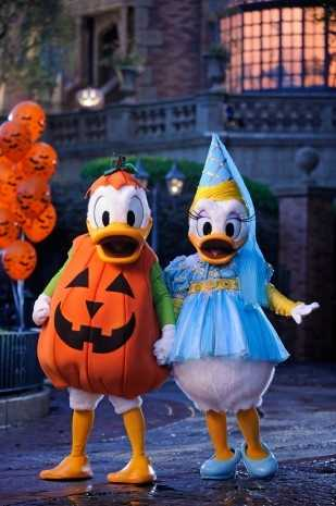 During the course of the season, Mickey's Boo-to-You Halloween Parade will travel almost 23 miles.