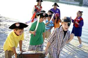 2. Disney's Pirate Adventure is an expedition for children ages 4 to 12.