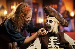3. The Pirates League at the Magic Kingdom gives guests a pirate makeover.