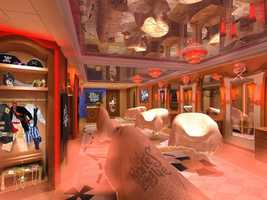 The Disney Fantasy features a spot to get a pirate makeover for the special occasion.