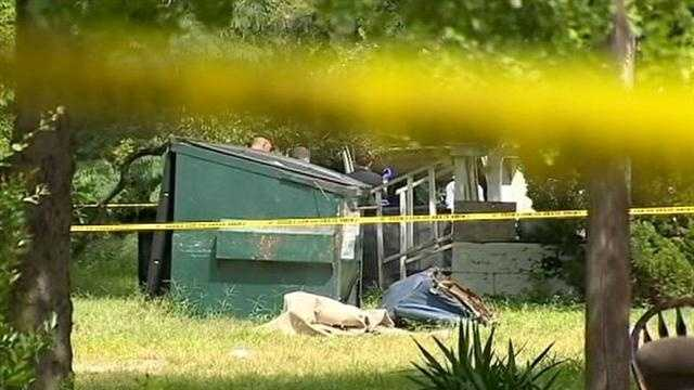 Orange County Sheriff's Office deputies look into a death near a home in Ocoee.