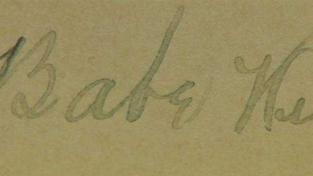Babe Ruth autograph found at Clermont library