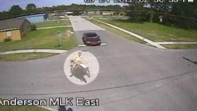 Deputies release video of man riding horse drunk