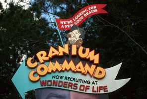 Cranium Command opened at Epcot on Oct. 19, 1989.