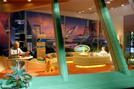 The Horizons adventure also took guests to Nova Cite, a community of the future, where families could keep in touch using a holographic telephone.