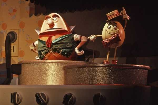 Hamm and Eggz were a wise-cracking dynamic comedic duo.