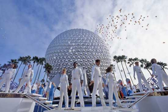 Spaceship Earth was officially dedicated on opening day.