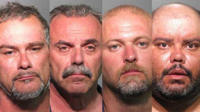 Paul Smith, David Maloney, Robert Eckerd, Victor Amaro