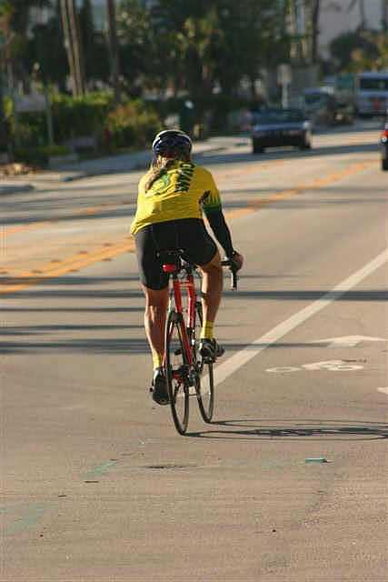 6. How much clearance should be given when passing bicyclists?