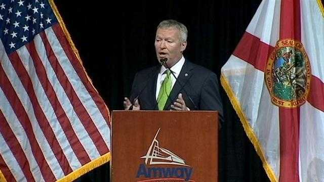 Orlando Mayor Buddy Dyer delivered his State of the City address on Wednesday morning and said the city is getting greener.