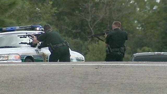 Three men were taken into custody after a home invasion and a bank robbery in Volusia and Seminole counties.