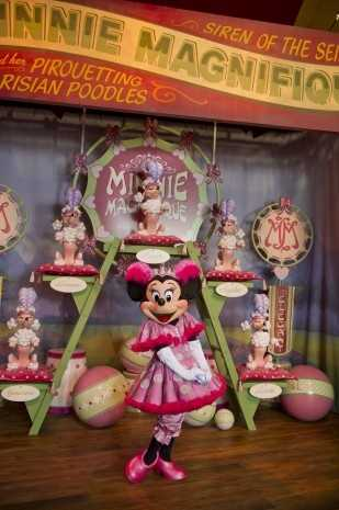 The sideshow is a custom-designed character greeting dreamed up exclusively for the Storybook Circus.