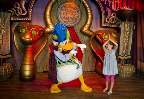 Disney is giving fans a peek at Pete's Silly Sideshow.