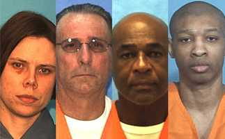 There are almost 400 inmates on death row in the state of Florida.