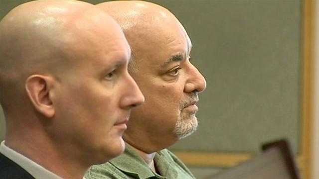 The man accused of running a brothel in Orange County appears in court Wednesday.